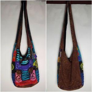 Hippie Boho Slouch Bag Nepal Crossbody bag